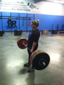 200 pound Deadlift