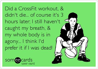 CF Workout